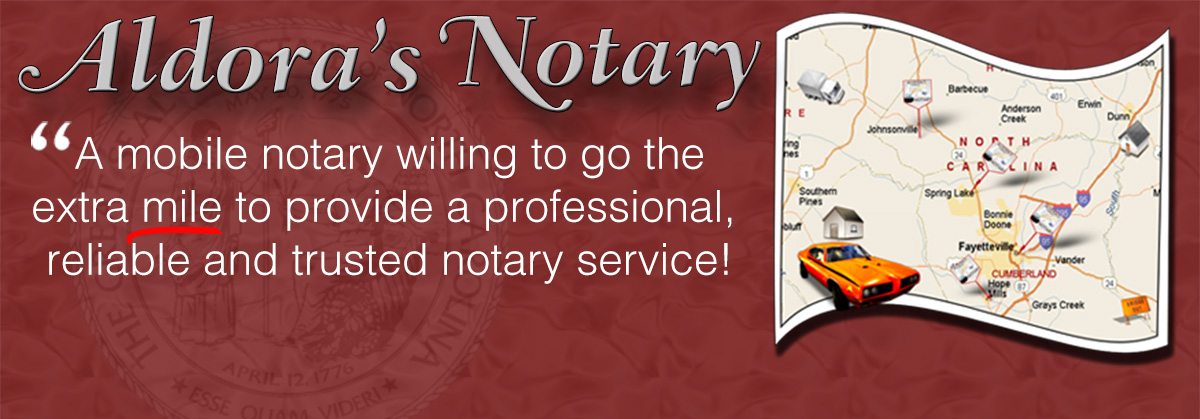 A mobile notary willing to go the extra mile to provide reliable notary services